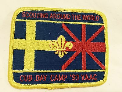 Boy Scouts - '93 YAAC Scouting Around The World - Cub Scout Day Camp patch