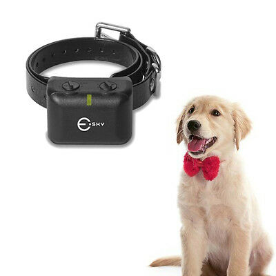 Waterproof Rechargeable Medium Large Size Anti Bark No Barking Dog Shock Collar