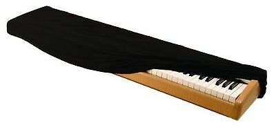 On Stage Keyboard Dust Cover for 88 Key Keyboards Black New