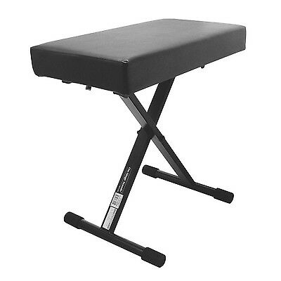 On Stage KT7800 Plus Padded Keyboard Bench New