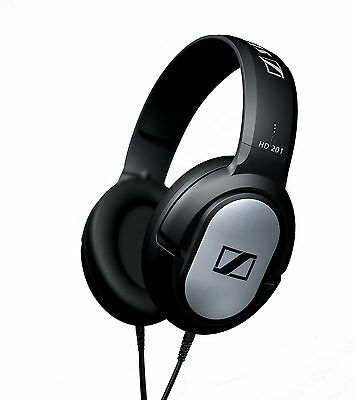 Sennheiser HD 201 Lightweight Over-Ear Binaural Headphones New