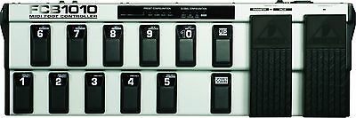 MIDI Foot Controller with 2 Expression Pedals and MIDI Merge Function New