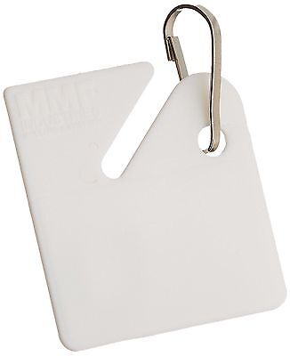 MMF Industries Slotted Rack Key Tags Plastic 1.5 Inch Height White 20 per... New