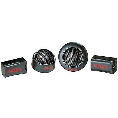 Boss TW15 Micro-Dome Tweeter with Surface Flush Swivel Mount Single (Black) New