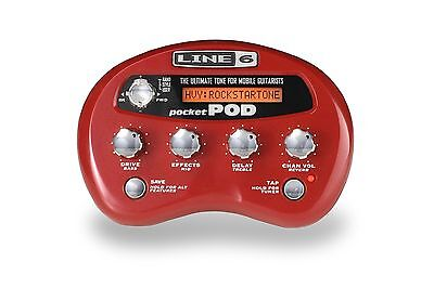 Line 6 Portable Amplifier Modeler with 18 FX New