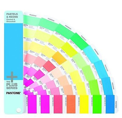 Pantone GG1504 Plus Series Pastel and Neons Guide New
