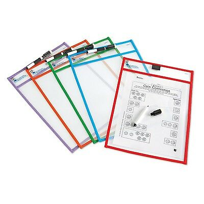 Learning Resources Write and Wipe Pockets New