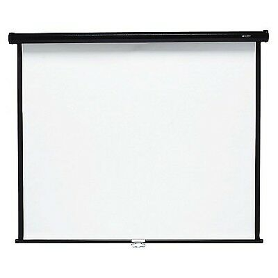 Quartet Wall and Ceiling Projection Screen 70 x 70 Inches (670S) New