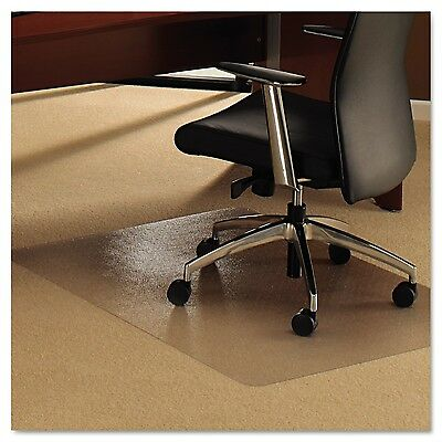 Floortex Ultimat Polycarbonate Chair Mat for Plush Pile Carpets More Than... New