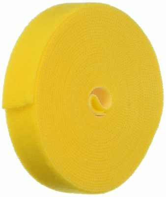 Monoprice 105832 0.75-Inch One Wrap Hook and Loop Fastening Tape 5-Yard/R... New