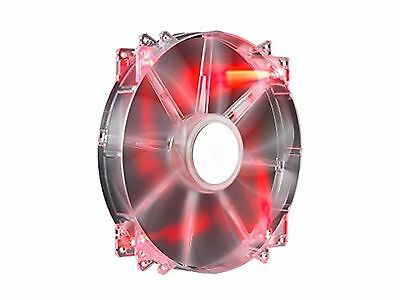 MEGAFLOW 200MM RED LED 700RPM SLEEVE Air Pressure 200mm - Red New