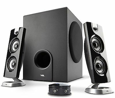 Cyber Acoustics Subwoofer Satellite System (CA-3602) New