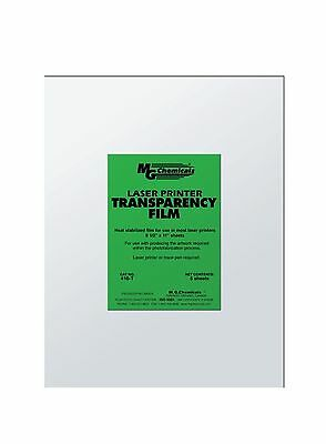 MG Chemicals 416-T PET Transparency Film Sheet 11-Inch Length X 8-1/2-Inc... New