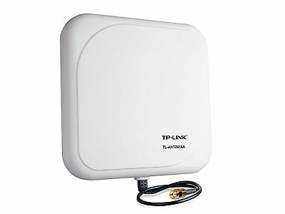 TP-Link TL-ANT2414A 2.4GHz 14dBi Outdoor Directional Antenna RP-SMA Male ... New