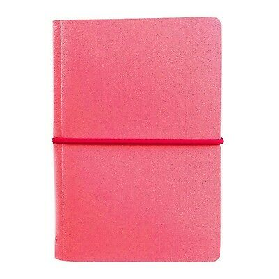 Paperthinks Fuchsia Recycled Leather Memo Pad 2.6 x 4-inches PT96816 New