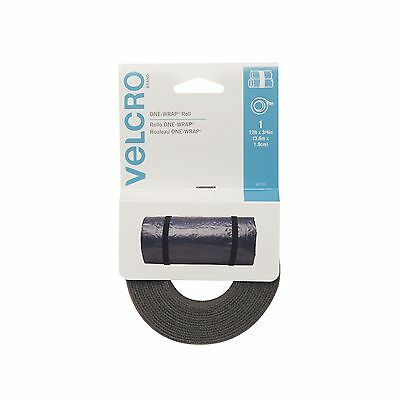 VELCRO Brand-One-Wrap: for Cables Wires and Cords-12-Feet X 3/4-Inch Roll... New