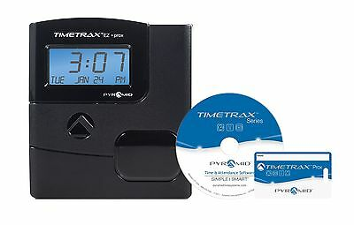 Pyramid TimeTrax TTEZPROX Automated Proximity Time Clock System - Etherne... New