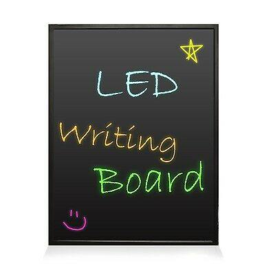 PYLE-HOME PLWB3040 Erasable Illuminated Flashing LED Writing Board with R... New