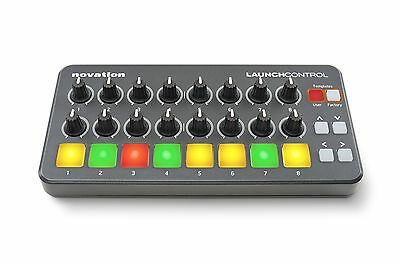 Novation Launch Control Portable USB Midi Contoller with 16 Assignable Kn... New