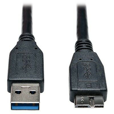 TRIPP LITE 6-Feet USB 3.0 SuperSpeed Device Cable A to Micro-B M/M Black ... New