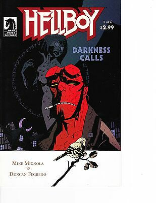 Hellboy: Darkness Calls #1 Horror,Mike Mignola FREE SHIPPING AVAILABLE