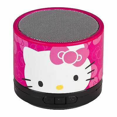 Hello Kitty 37309R-TRU Bluetooth Speaker New