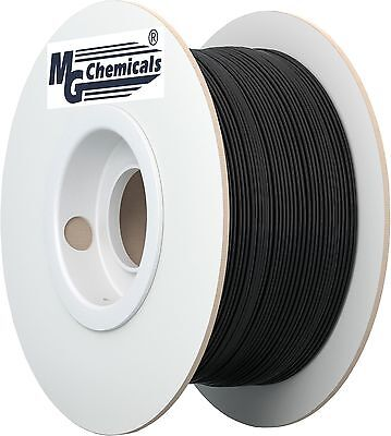 MG Chemicals PLA 3D Printer Filament 1.75 mm 1 kg Black (IMPROVED) New