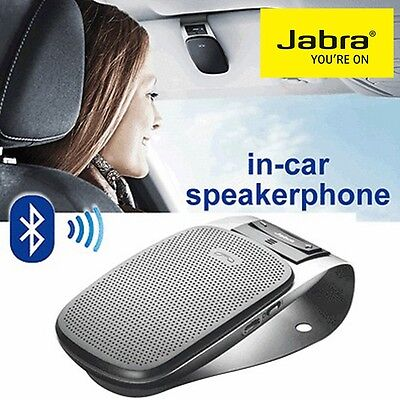 Bluetooth Car Speakerphone Jabra Drive Wireless Handsfree Car Kit Speaker Iphone