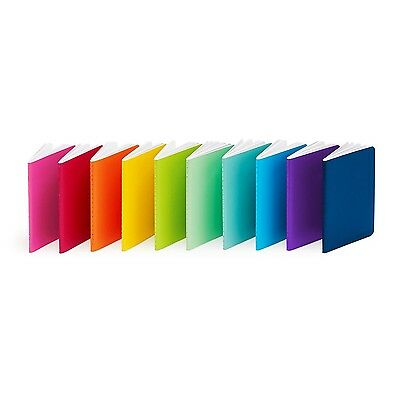 Poppin Mini Medley of Soft Cover Notebooks Set of 10 Assorted New