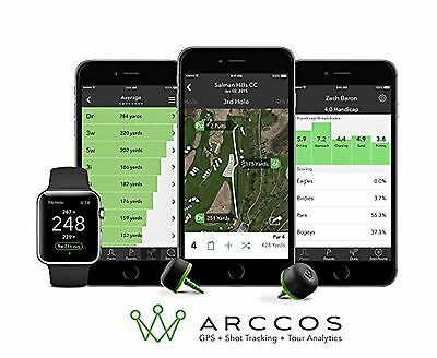 Arccos Golf Real-Time GPS & Golf Stat Tracking System New