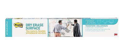 Post-it Dry Erase Surface 3 x 2-Feet 3 x 2 Feet New