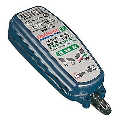 OptiMate Lithium TM-471 8-step 12.8/13.2V 0.8A Battery saving charger-tes... New