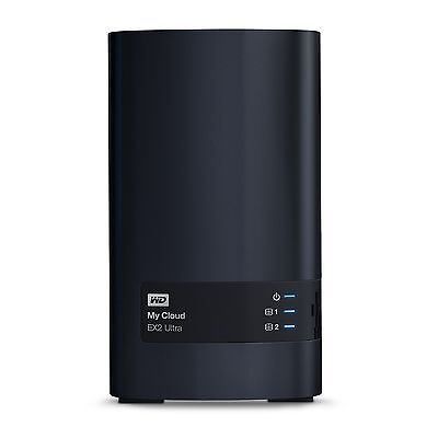 Western Digital Diskless My Cloud EX2 Ultra Network Attached Storage - WD... New