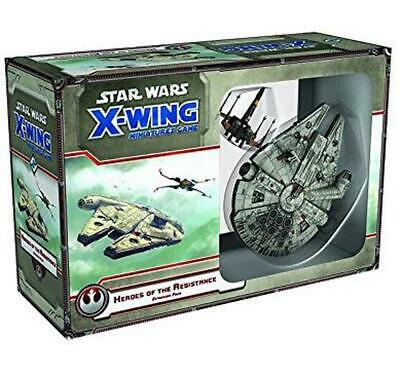 Star Wars X-Wing Heroes of the Resistance - Fantasy Flight Games