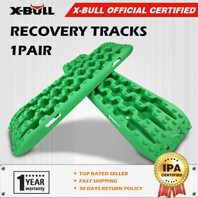 X-BULL  Sand Tracks Recovery Tracks Mud Snow Green Track/Trax  ATV OFF ROAD 4x4