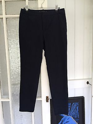 Ladies Zara Size 8 Black Tailored Pants