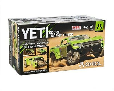 Axial 1/10 RTR Yeti SCORE Trophy Truck 4WD Brushless SCT #AX90050 OZ RC Models