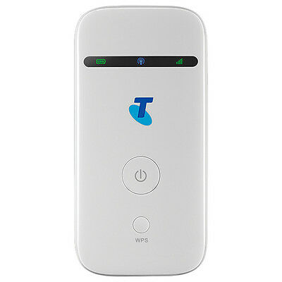 Telstra MF65 3G Broadband Pocket Wifi Modem WHITE