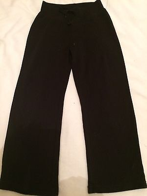 Girls Black Jogging Pants Size 5-6 By George! Bargain!!