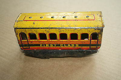 A beautiful  OLD TINPLATE TOY as a  DESK or BOOKCASE ORNAMENT Hornby 'O' gauge a