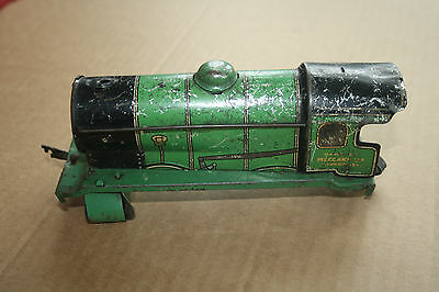 A beautiful  OLD TINPLATE TOY as a  DESK or BOOKCASE ORNAMENT Hornby 'O' gauge g