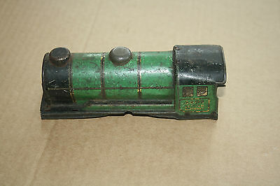A beautiful  OLD TINPLATE TOY as a  DESK or BOOKCASE ORNAMENT Hornby 'O' gauge y