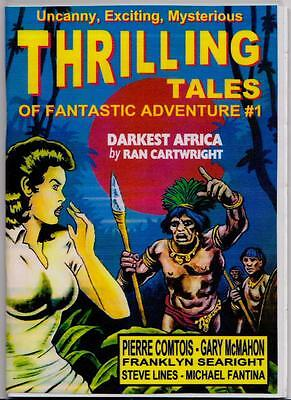 019 THRILLING TALES #1 Rainfall chapbook. Pulp fiction. Action & adventure