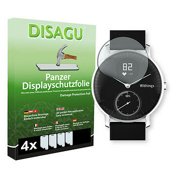 4x DISAGU Armor screen protector for Withings Steel HR