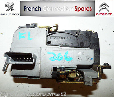 Peugeot 206 Front Door Catch Central Locking Motor Left Hand Side 6 Pin