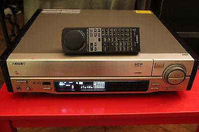 Sony MDP 740D PAL Laserdisc Player Remote Control  LD CDV CD Champagne ( ES )