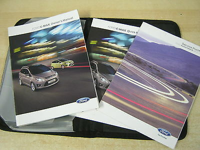 Ford Focus C-Max & Grand Owners Manual -Owners Handbook 2010-2014 & Service Book
