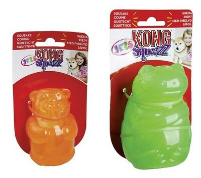 KONG Squeezz JELS Hundespielzeug mit Squeaker