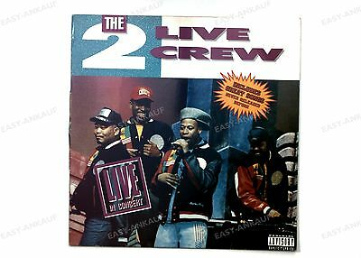 The 2 Live Crew - Live In Concert GER LP 1991 //2