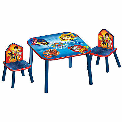New Delta Children Paw Patrol Kids Wooden Table & Chairs Bedroom / Playroom